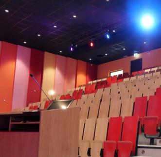 installatie auditorium