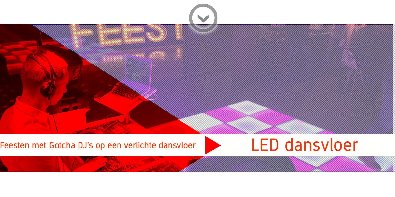 drive in show met LED dansvloer