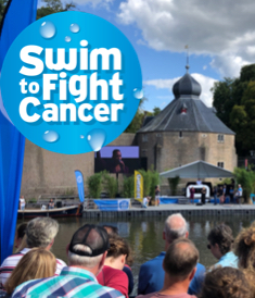 swim to fight cancer Breda